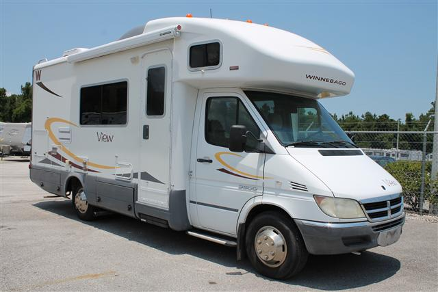 Buy a Used Winnebago View in St. Augustine, FL.