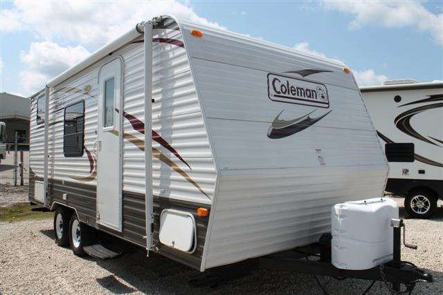 Used 2011 Dutchmen Coleman 198DB Travel Trailer For Sale