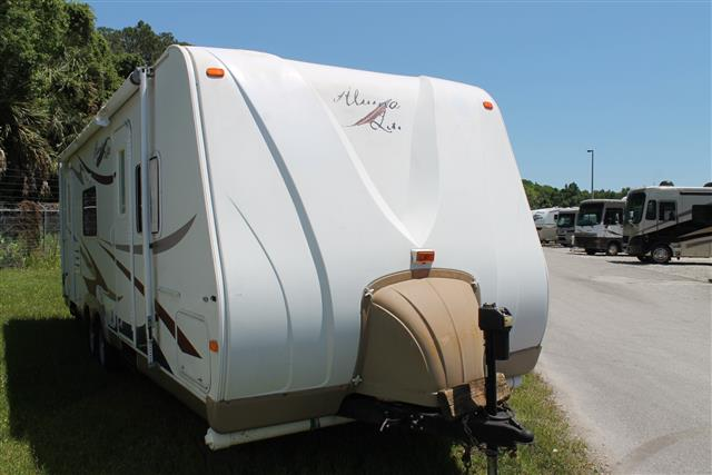Used 2007 Holiday Rambler Aluma Lite 8308S Travel Trailer For Sale