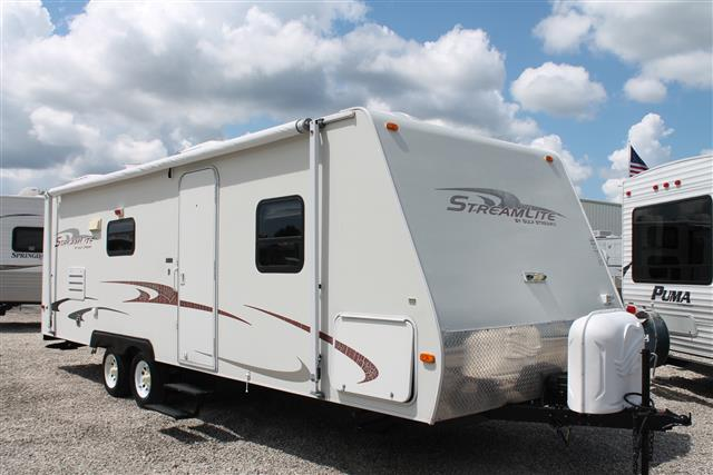 Used 2007 Gulfstream Stream Lite 26QBS Travel Trailer For Sale