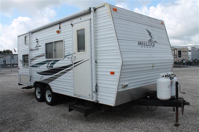 Used 2007 Fleetwood Mallard 18CK SPORT Travel Trailer For Sale