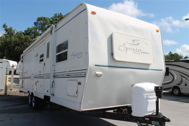 Used 2001 Keystone Sprinter 301BH Travel Trailer For Sale