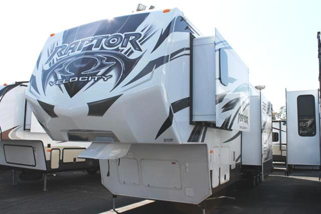 2013 Fifth Wheel Toy Hauler Keystone Raptor