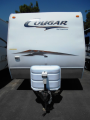 Used 2008 Keystone Cougar 264RLS Travel Trailer For Sale