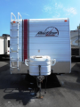 Used 2007 Fleetwood Redline 180FK Travel Trailer Toyhauler For Sale