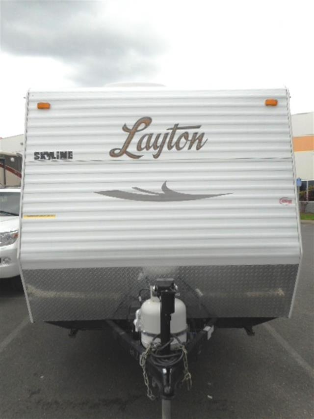 Used 2012 Skyline Layton 173 Travel Trailer For Sale