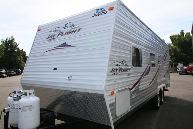 Used 2007 Jayco Jayflight 23FB Travel Trailer For Sale