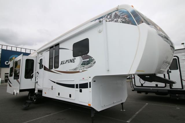 Used 2012 Keystone Alpine 3450RL Fifth Wheel For Sale