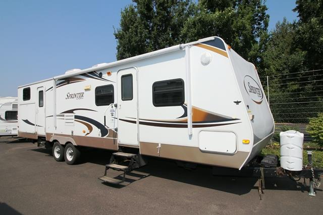 Used 2010 Keystone Sprinter 311BHS Travel Trailer For Sale