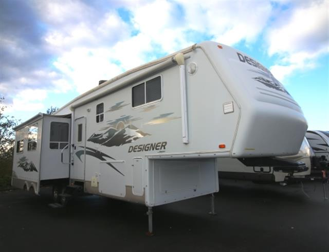 Used 2007 Jayco Designer 34RLQS Fifth Wheel For Sale