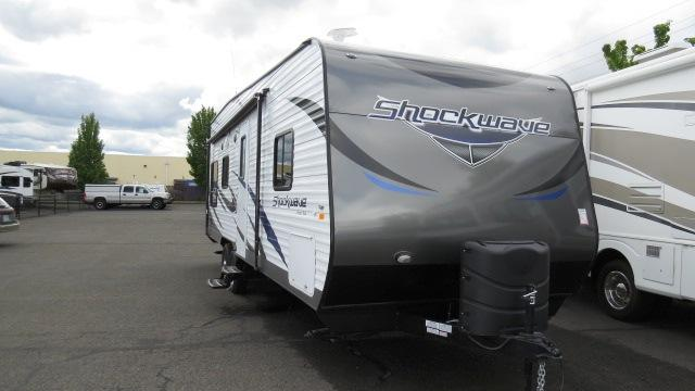 2015 Travel Trailer Toy Hauler Forest River Shockwave