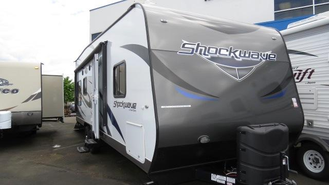2014 Travel Trailer Toy Hauler Forest River Shockwave