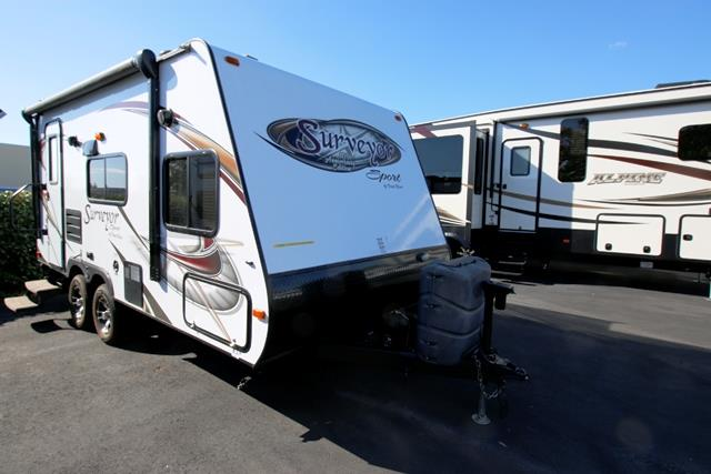 Used 2013 Forest River Surveyor M189 Travel Trailer For Sale