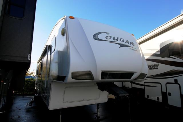 Used 2008 Keystone Cougar 295RKS Fifth Wheel For Sale