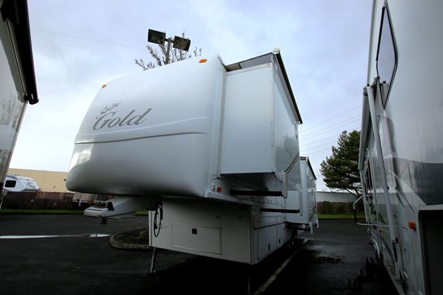 Used 2007 Alfa Gold 35RLIK Fifth Wheel For Sale