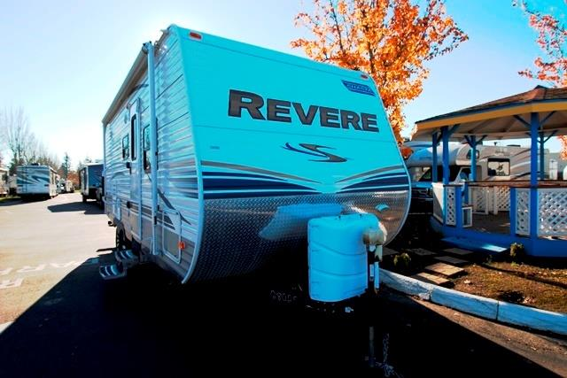 Used 2012 Shasta Revere 21FBS Travel Trailer For Sale
