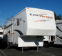 Used 2007 Crossroads Cross Terrain 36DS Fifth Wheel Toyhauler For Sale