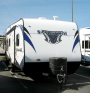 New 2013 Forest River Sandstorm 210SLC Travel Trailer Toyhauler For Sale