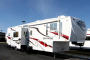 Used 2009 KZ Inferno 4012SL Fifth Wheel Toyhauler For Sale
