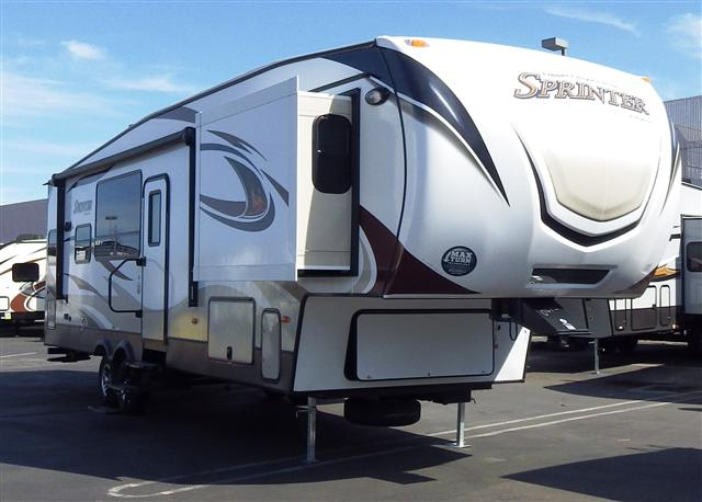 2015 Fifth Wheel Keystone Sprinter