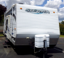Used 2008 Forest River Sierra T21SKSPL Travel Trailer Toyhauler For Sale