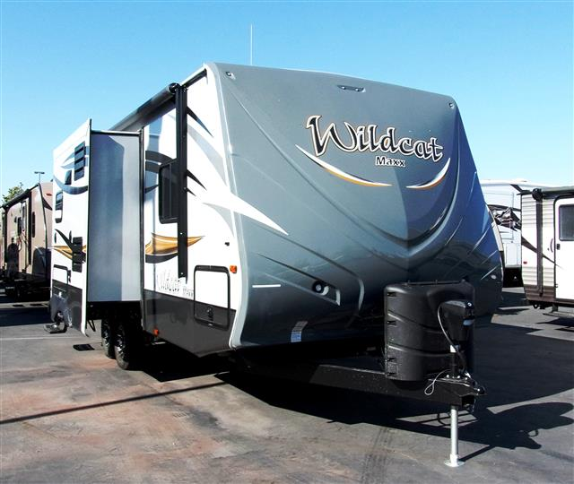New 2015 Forest River Wildcat 23DKS Travel Trailer For Sale