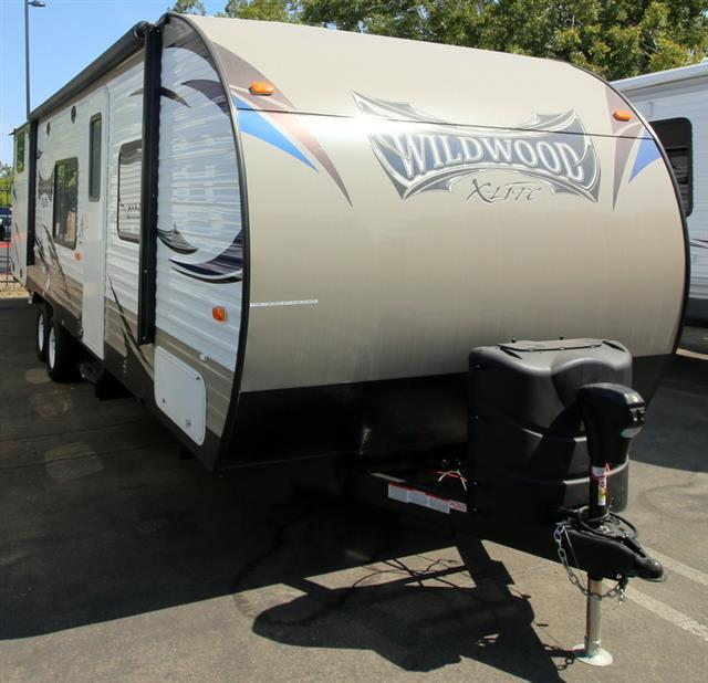 New 2016 Forest River Wildwood 281QBXL Travel Trailer For Sale