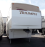 Used 2003 Fleetwood Triumph 31-5G Fifth Wheel For Sale