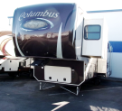 Used 2013 Forest River Columbus 365RL Fifth Wheel For Sale