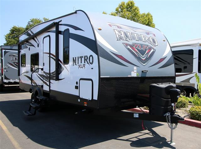 New 2016 Forest River XLR NITRO 24FQSL Travel Trailer Toyhauler For Sale