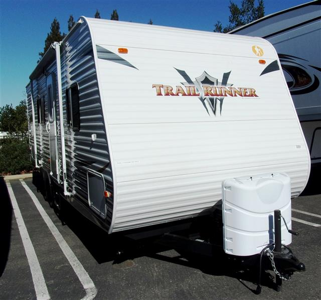 Used 2013 Heartland Trail Runner 25BH Travel Trailer For Sale