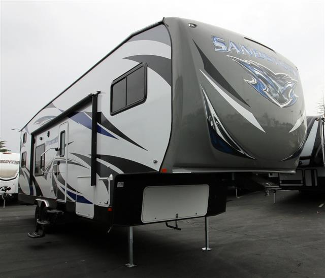 2016 Fifth Wheel Toy Hauler Forest River Sandstorm