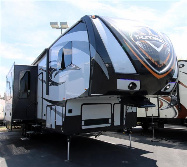 New 2016 Forest River XLR THUNDERBOLT 375AMP Fifth Wheel Toyhauler For Sale
