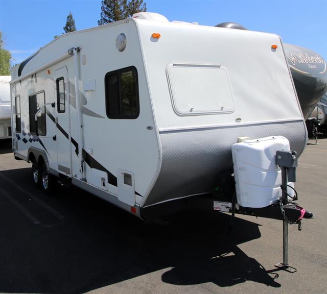 Used 2007 Thor Tahoe 22FK Travel Trailer Toyhauler For Sale
