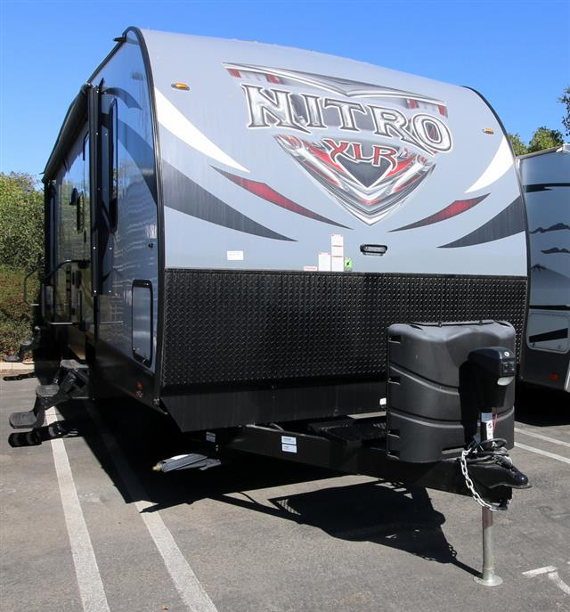 New 2016 Forest River XLR NITRO 30FQSL Travel Trailer Toyhauler For Sale