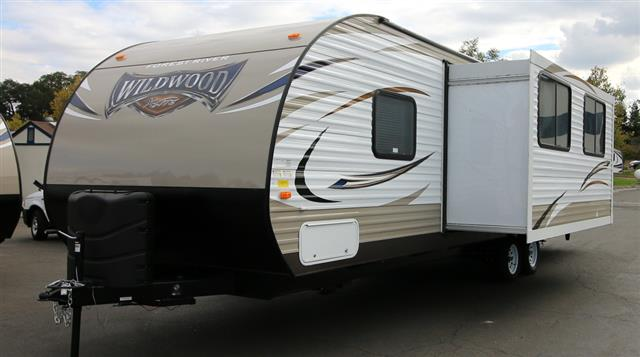 New 2016 Forest River Wildwood 273QBXL Travel Trailer For Sale