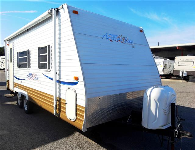 Used 2006 Gulfstream Ameri-lite 21FMB Travel Trailer For Sale