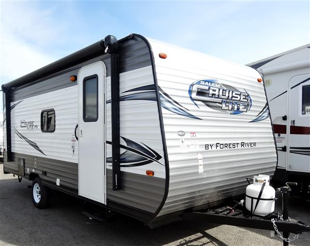 New 2015 Forest River SALEM CRUISE LITE 174BHXL Travel Trailer For Sale