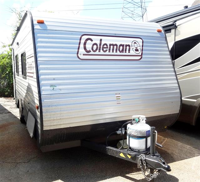 Used 2015 Coleman Coleman CTS16QB Travel Trailer For Sale