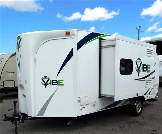 Used 2012 Forest River VIBE 6502 Travel Trailer For Sale