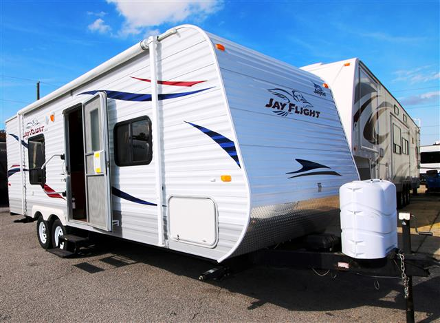 Used 2011 Jayco Jayflight 22FB Travel Trailer For Sale