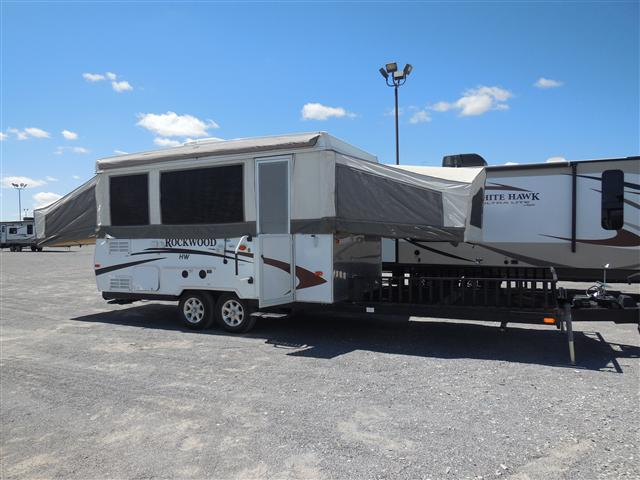 Rv For Sale El Paso Tx >> Used 2012 Forest River Rockwood Pop Up For Sale In Anthony, TX - LC554410A - Camping World