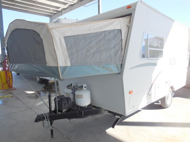 Used 2000 Jayco Kiwi 17A Hybrid Travel Trailer For Sale