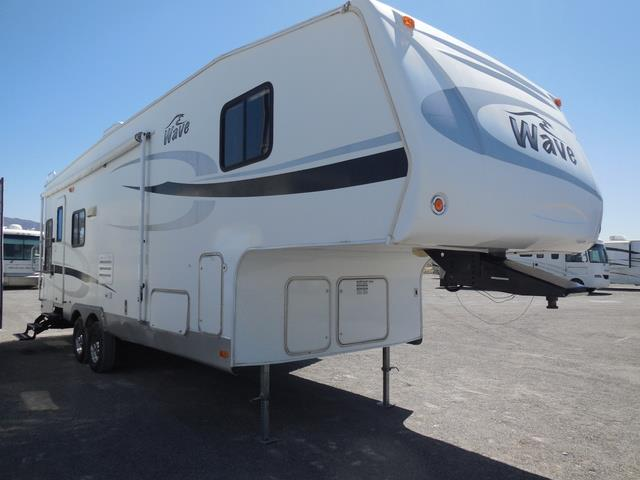 Used 2008 Thor Wave 295RLS Fifth Wheel For Sale