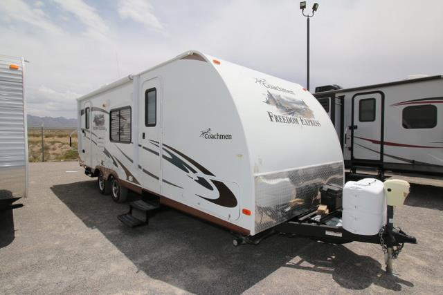 Used 2012 Coachmen Freedom Express 242RBS Travel Trailer For Sale