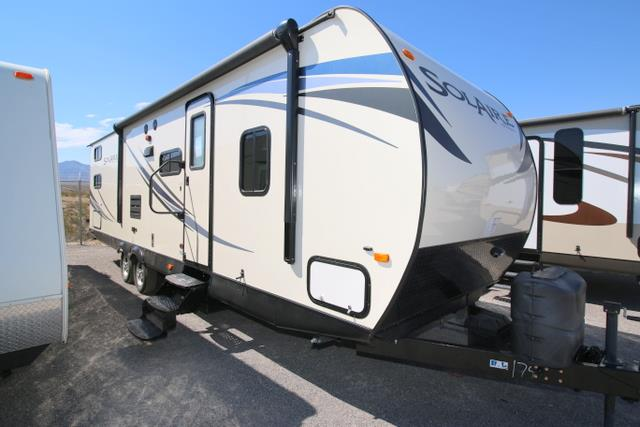 Used 2014 Holiday Rambler SOLAIRE 28QBSS Travel Trailer For Sale