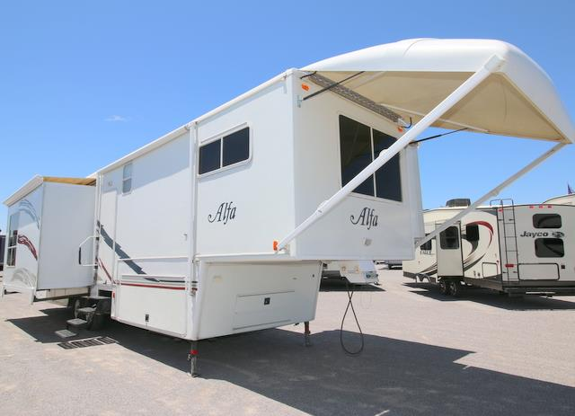 Used 2006 Alfa See Ya 35RLIK314 Fifth Wheel For Sale