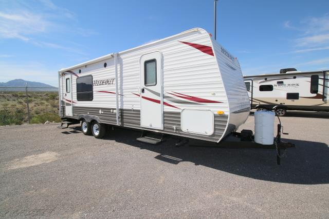 Used 2012 Keystone Hideout M-23RKS Travel Trailer For Sale
