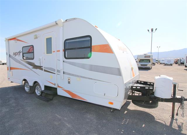 Used 2011 Kz Rv Coyote MXT 184 Travel Trailer Toyhauler For Sale