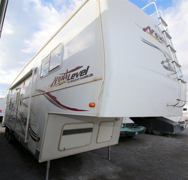 Used 2004 Holiday Rambler Next Level 37CK Fifth Wheel Toyhauler For Sale